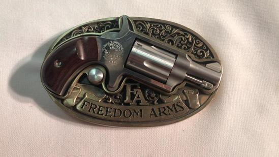 Freedom Arms Belt Buckle Pistol SN#A75037