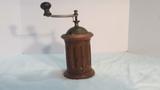 Metal and Wood Cylinder Coffee Grinder