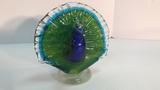 Murano Glass Peacock.