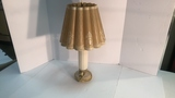 Pressed Glass Handled Lamp.