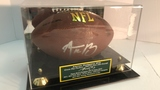 Aaron Rodgers Autographed Football.