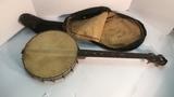 Antique Banjo.