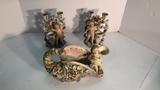 Set of 3 Porcelain Figurines.
