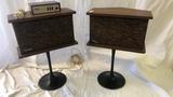 Vintage Bose Pedestal Speakers.