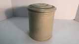 Small Crock with Lid.