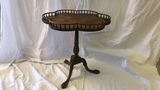 Claw foot Pedestal Side Table.
