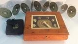 Wood Music Box.
