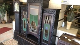 Stained Glass Hutch.