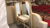 French Provincial Winged Vanity.