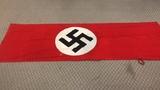 Large Nazi Party Flag.