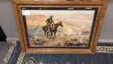 """Charles Marion Russell Print. """"Wagon Boss"""""""