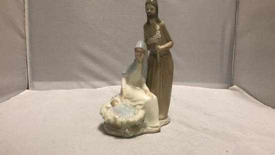 Nao by Lladro Nativity Scene Figurine.
