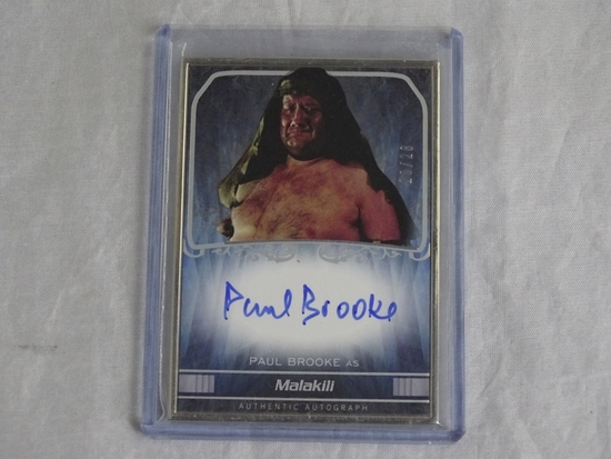 2015 Topps Star Wars Masterwork Paul Brooke