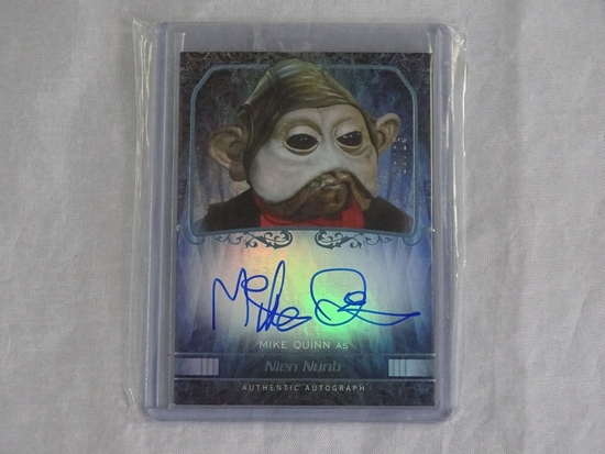 Topps Star Wars Force Awakens Nien Nunb card