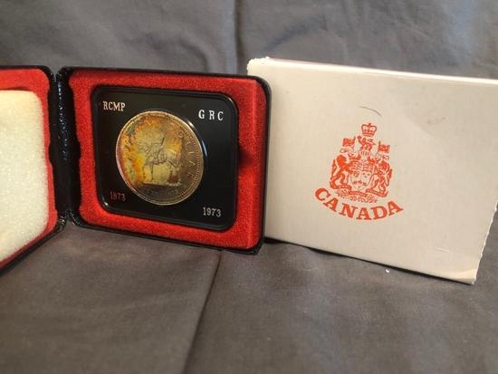 Canadian Dollar - 1873-1973.