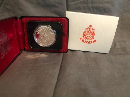 Canadian Dollar Calgary 1875-1975.