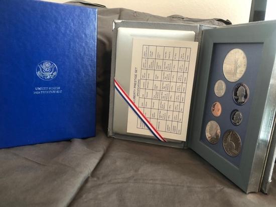 1986 United States Prestige Coin Set.