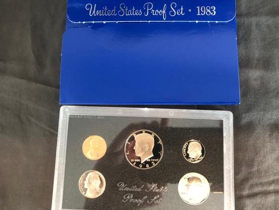 1983 United States Proof Set.