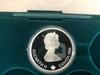 1988 Royal Canadian Mint Box with 2 1988 Calgary 20 Dollar Coins.