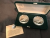 Set of 2 1988 Royal Canadian Mint Calgary Olympic $20 Coins.