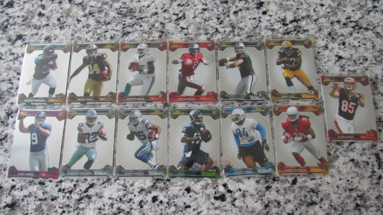 Set of 13 2013 Topps Finest Cards