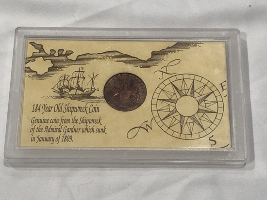 184 Year Old Shipwreck Coin.