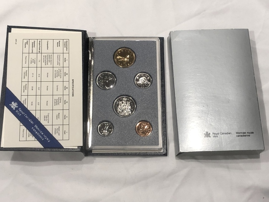 1991 Canadian Mint Specimen Set.