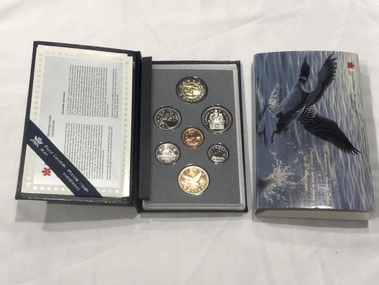 1997 Canadian Mint Specimen Set.