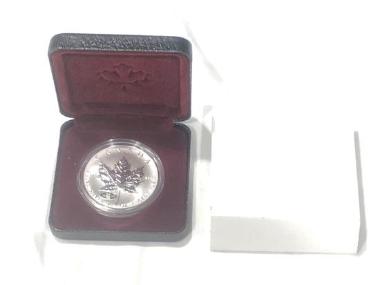Canadian 1 oz Fine Silver Coin.