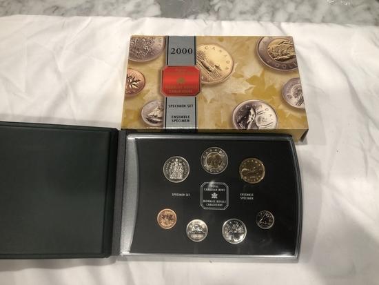 2000 Royal Canadian Mint Specimen Set.
