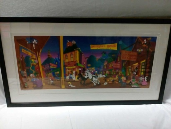 """1995 Warner Brothers """" Tune Town"""""""