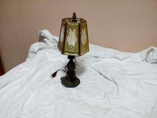 Vintage Slag Lamp