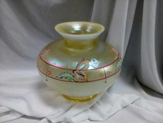 Fenton Millennium Collection Iridesscent Vase