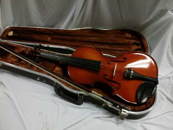 Scherl & Roth Violin w/ Case and Bow