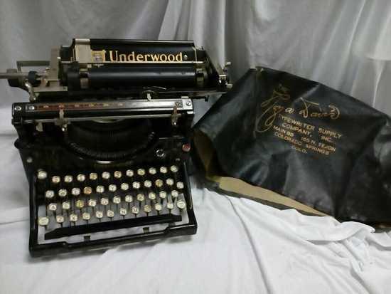Underwood Standard Typewriter  No. 5