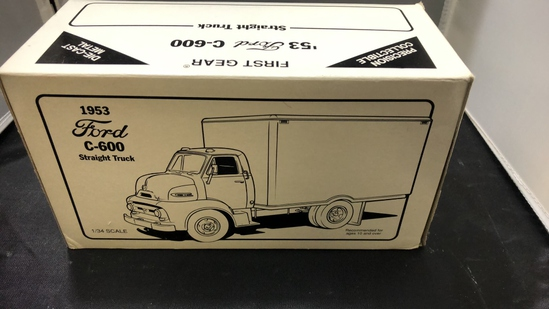 1953 Ford C-600 Straight Truck Die-Cast Replica.