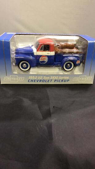 1952 1/2 Ton 3100 Series Pepsi Chevrolet Pickup Di