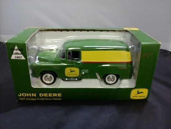 1957 John Deere Dodge D100 Town Panel Die-Cast Ban