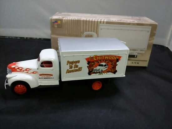 1942 Chevrolet 1-1/2 Ton Van Box Die-Cast  Bank.