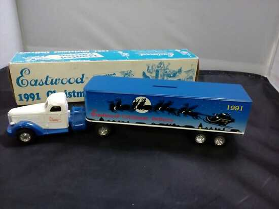 1991 Eastwood Christmas Deluivery Truck and Traile