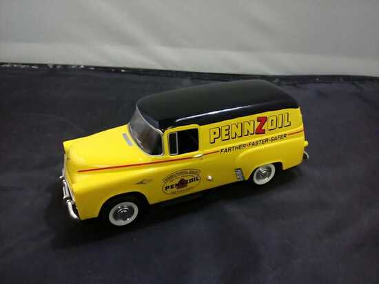 1957 Pennzoil Dodge Die-Cast Bank.