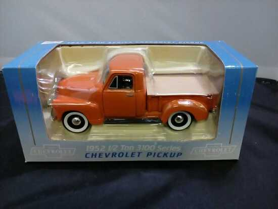 1952 1/2 Ton 3100 Series Chevrolet Pickup Die-Cast