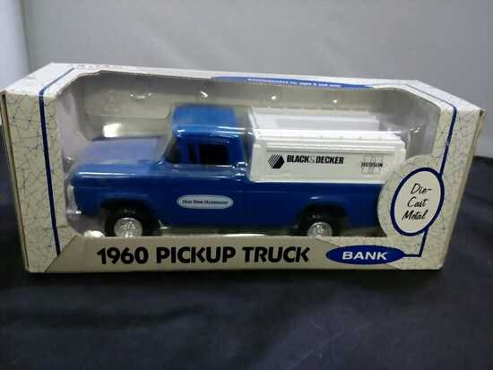 1960 Pickup Truck Die-Cast Bank.