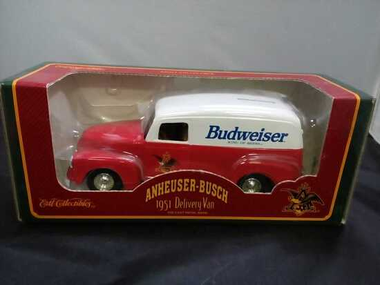 1951 Anheuser-Busch Delivery Van Die-Cast Bank.