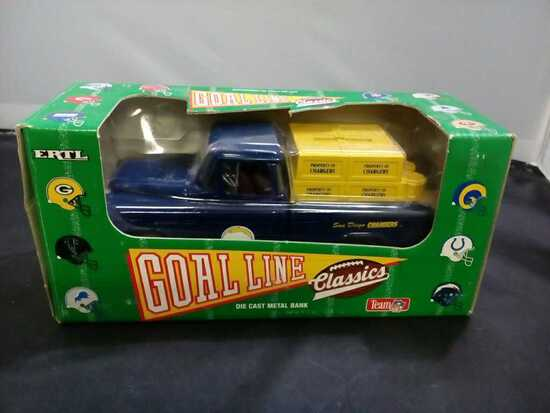 San Diego Chargers Die-Cast Bank.
