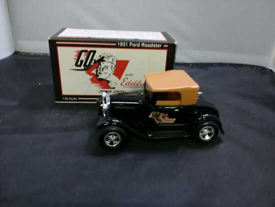 1931 Ford Roadster Die-Cast Bank