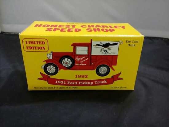 1931 Honest Charley Ford Pick-up Truck Die-Cast Ba