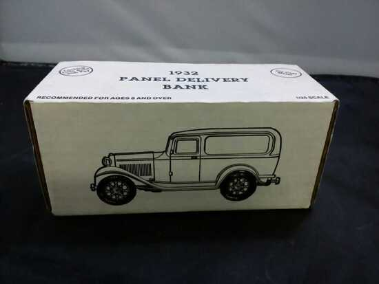1932 Ford Panel Delivery Die0Cast Bank