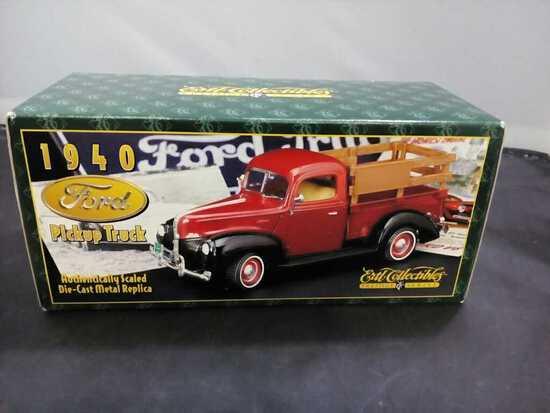 1940 Ford Pickup Truck Die-Cast Replica.