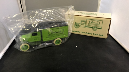 Eastwood's 1931 Delivery Truck Die-Cast Bank.